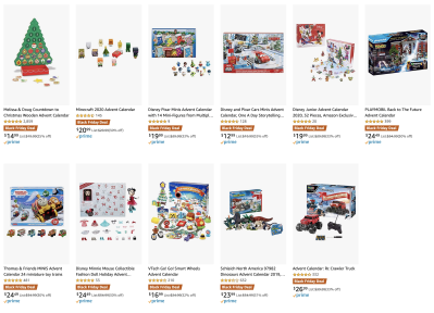 Amazon Black Friday Advent Calendar Deal: Save up to 33% Off!