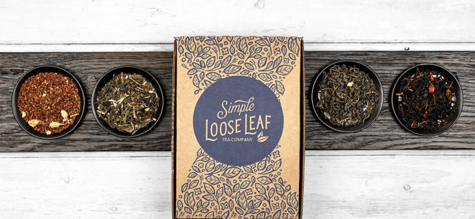 Simple Loose Leaf Tea Cyber Monday Sale: Save Up to 21% On Gift Memberships!