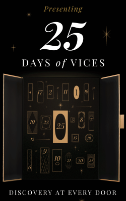 Vices Advent Calendar FULL Spoilers + $50 OFF!
