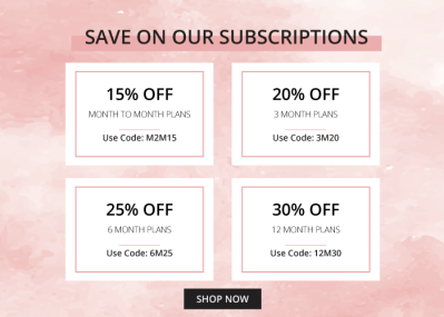 Beauteque Beauty Box & Mask Maven Black Friday Deals: Save up to 30% on subscriptions!
