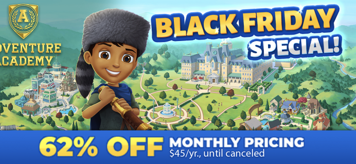 Adventure Academy Black Friday 2020: Get 1 Year of Adventure Academy for $45 – Over 60% Off!