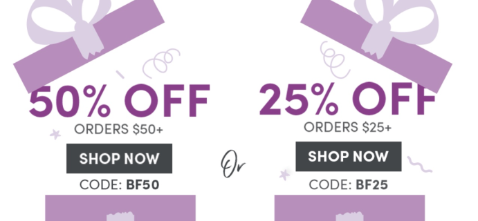 Julep Cyber Monday Deal: Save $20 + 2 FREE Gifts on all orders $40+!