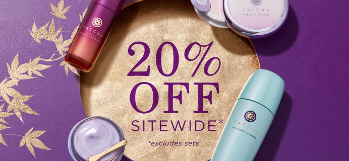 Tatcha Cyber Monday Deal: Get 20% Off + FREE Gift With All $250+ Orders!
