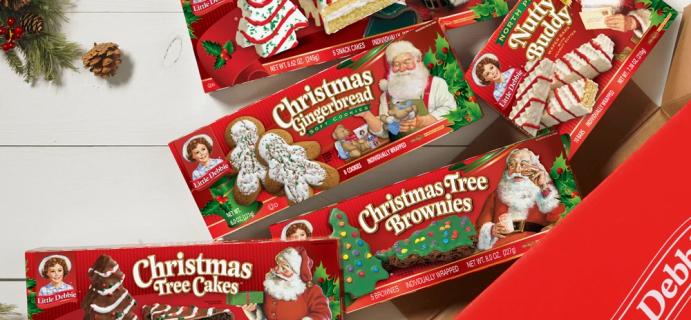 Little Debbie Christmas Tree Cake Hugger Box – Available NOW!