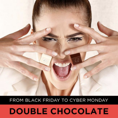 zChocolat Black Friday & Cyber Monday Deal: Get double the chocolate –  receive twice more chocolate at no additional cost!