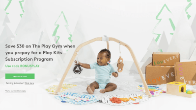 Lovevery Black Friday Deal: Save 10% On Prepaid Subscription + $30 Off The Play Gym!