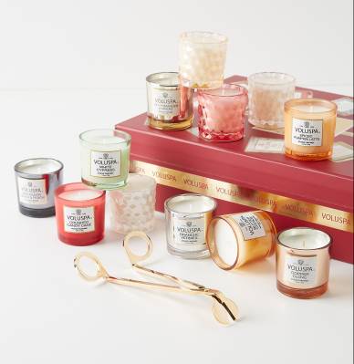 Voluspa 12 Day Candle Gifting Advent Calendar Black Friday Deal – Save 30%!