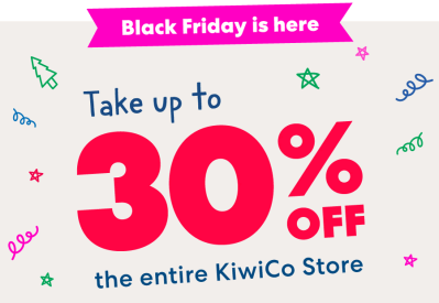 KiwiCo Crates Shop Black Friday Deal 2020: Get Up To 30% Off Shop Orders!