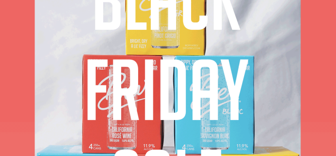 Bev Canned Wine Black Friday Deal: Up To 25% Off First Order!