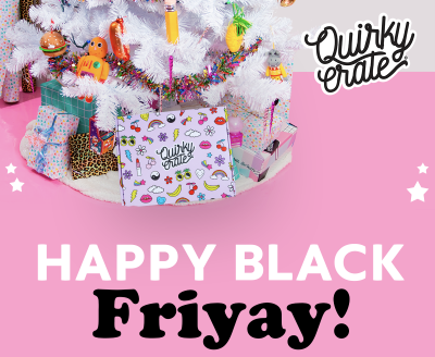 Quirky Crate Black Friday Sale: Get 20% Off First Month!