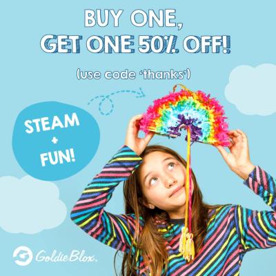 GoldieBlox Black Friday Sale: 20% Off Bundles + Buy One Get One 50% Off !