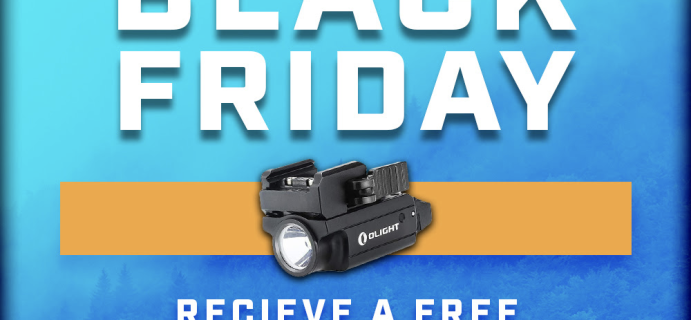 Crate Club Black Friday Deal: Get FREE Olight-PL with Subscription!