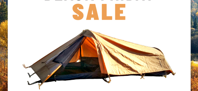BattlBox Black Friday Coupon: Get FREE Tent with Subscription!