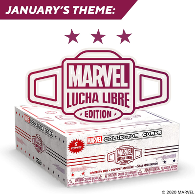 Marvel Collector Corps January 2021 Theme Spoilers!