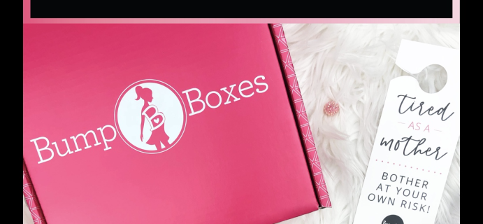 Bump Boxes Black Friday Deal: Up to 70% off your first box + FREE gift!