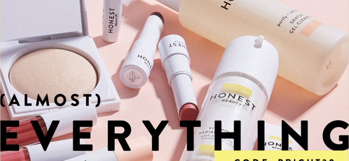 Honest Beauty Cyber Monday Deal: 30% Off Almost Everything!