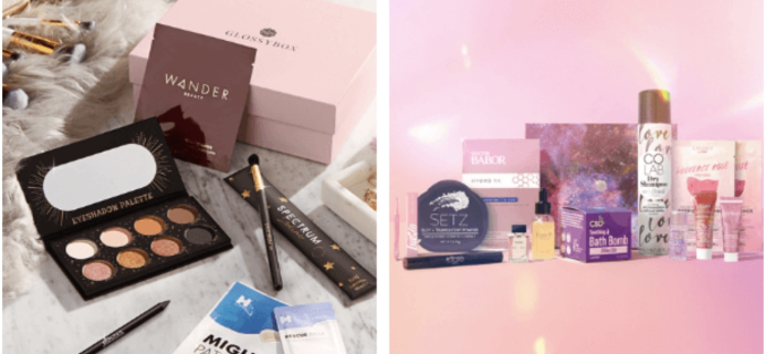 GLOSSYBOX Black Friday Deal TONIGHT ONLY: November + Black Friday LE Box for $29!