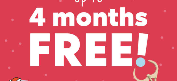 KiwiCo Cyber Monday Deal: Save HALF off First Box or Up to Four Months FREE!