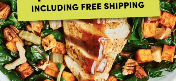 Green Chef Cyber Monday Deal: Save Up To $90 On Your First Five Boxes + FREE Shipping!