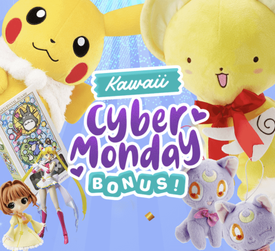 YumeTwins Cyber Monday Deal: Get BONUS Kawaii Gifts with Subscription!