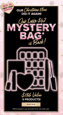Too Faced 2020 Cyber Monday Mystery Bag AVAILABLE NOW!