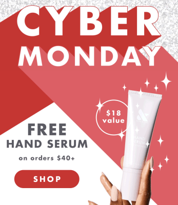 Olive & June Cyber Monday Deal: Get 25% Off EVERYTHING + FREE Hand Serum or Set Deal!
