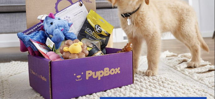 PupBox Cyber Monday Coupon: Get 90% Off Your First Dog or Puppy Box!