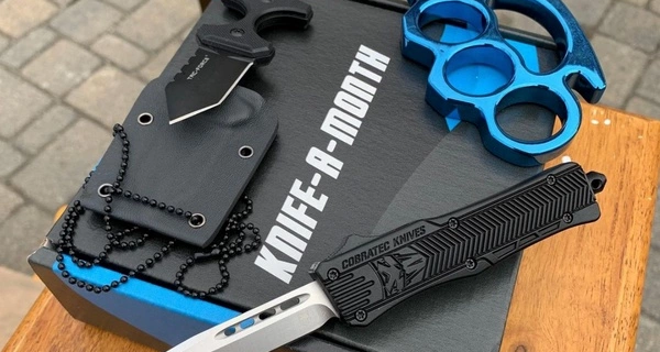 Knife A Month Cyber Monday Deal: Take 30% off your entire subscription purchase!