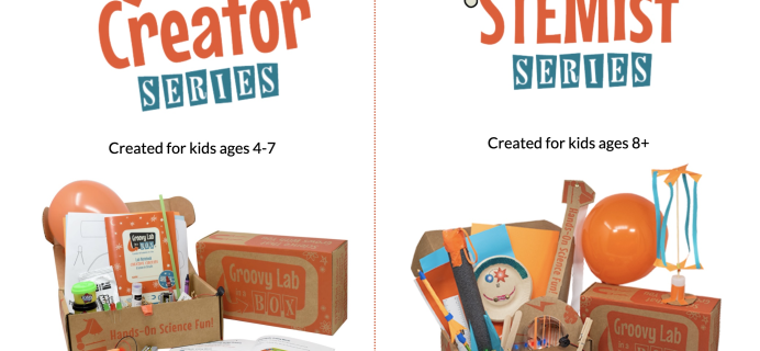 Groovy Lab In A Box Cyber Monday Deal: 20% Off Entire Subscription Length!