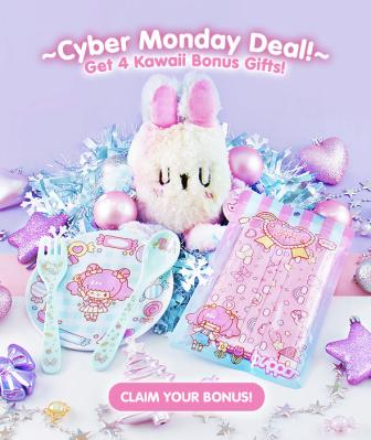 Kawaii Box Cyber Monday Deal: FREE Kawaii Bonus Gifts With Annual Subscription!
