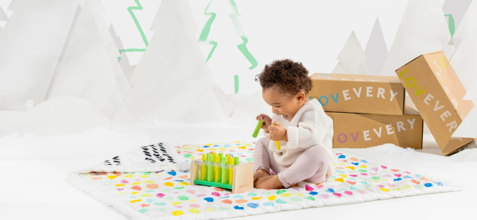 EXTENDED Lovevery Cyber Monday Deal: Save 10% On Prepaid Subscription + $25 Off The Organic Baby Quilt Gym!