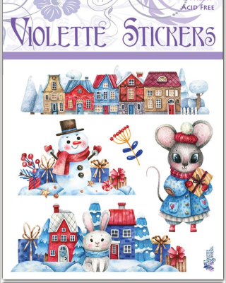 Violette Sticker Club Cyber Monday Deal: Save 30%!