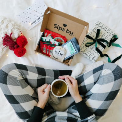 Sips by Tea Holiday Coupon: FREE Star Tea Steeper & or up to $15 Off with Gift Card Purchase!
