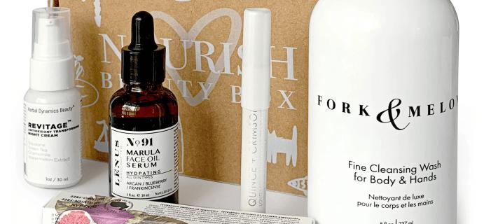 Nourish Beauty Box December 2020 Full Spoilers + Coupon!