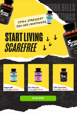 Sunday Scaries Cyber Monday Sale: Get Up To 50% Off!