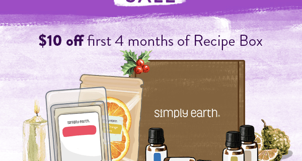 Simply Earth Cyber Monday Deal: Get $10 Off For 4 Months!