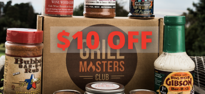 Grill Masters Club Cyber Monday Coupon: Save $10!