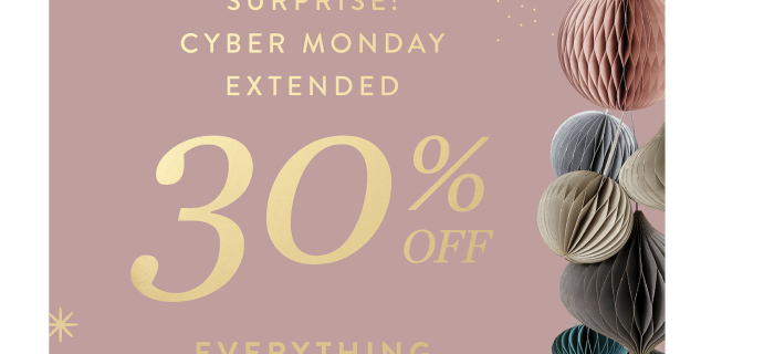 Erin Condren Cyber Monday Sale EXTENDED: Get 30% Off Entire Site + FREE Gift!