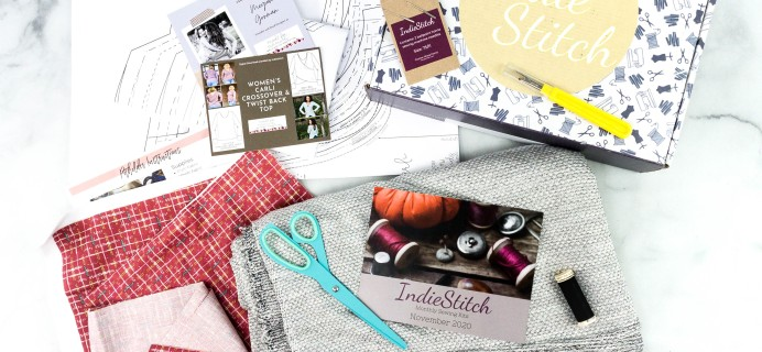 IndieStitch Sewing Subscription Box Review – Carli Top