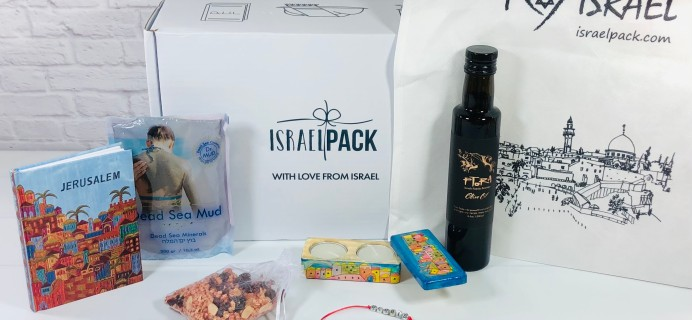 Israel Pack October 2020 Subscription Box Review + Coupon!