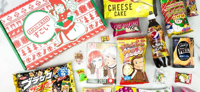Japan Crate December 2020 Review + Coupon