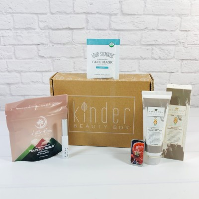 Kinder Beauty Box November 2020 Review + Coupon – Gardenia