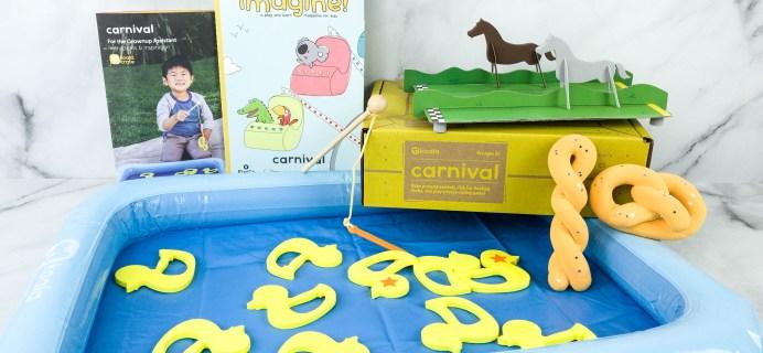 KiwiCo Koala Crate CARNIVAL Box Review & Coupon