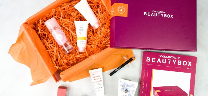 lookfantastic Beauty Box November 2020 Subscription Box Review