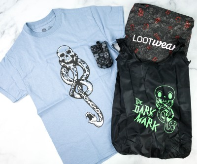 Loot Wear Wizarding World Wear October 2020 Subscription Box Review