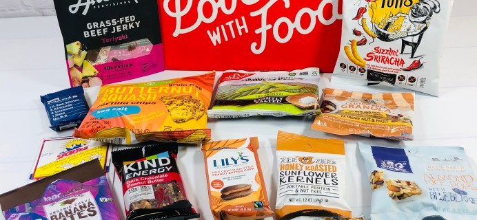 Love With Food November 2020 Deluxe Box Review + Coupon!