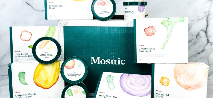 Mosaic Foods Plant-Based Meals Review + Coupon – Oat Bowls & New Meals!