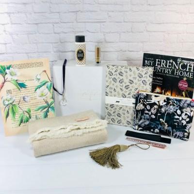 My Stylish French Box November 2020 Subscription Box Review – Holiday Chic