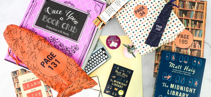 Once Upon a Book Club October 2020 Subscription Box Review + Coupon – Adult Box