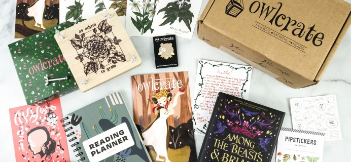 OwlCrate November 2020 Subscription Box Review + Coupon – GROWING WILD!